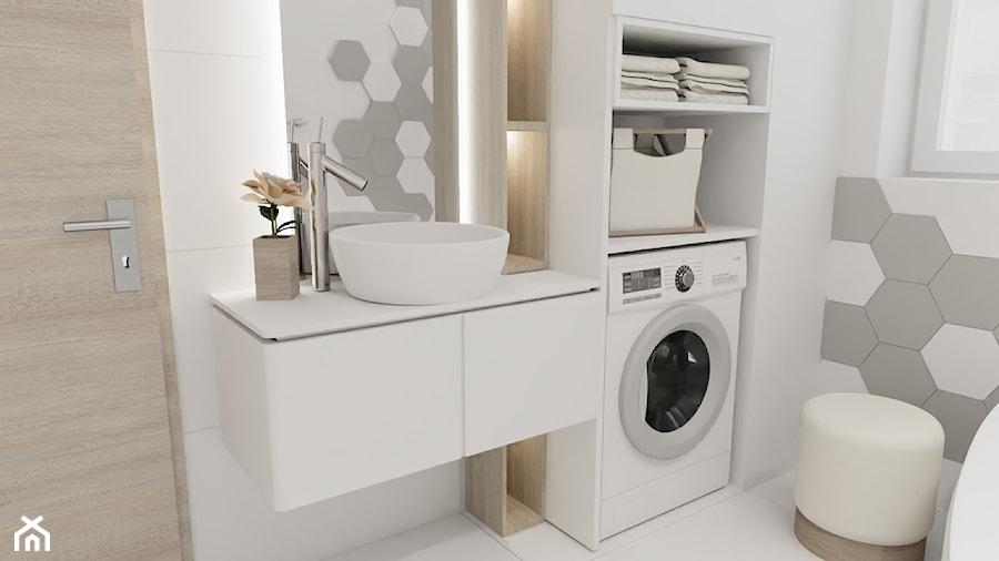 łazienka Płytki Heksagonalne Zdjęcie Od Blanka Mróz Homebook