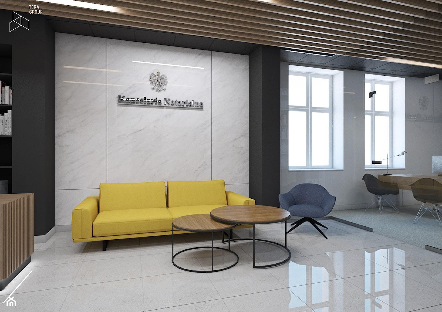Wnętrze Kancelarii Notarialnej - Wnętrza publiczne, styl nowoczesny - zdjęcie od TG WNĘTRZA - Homebook