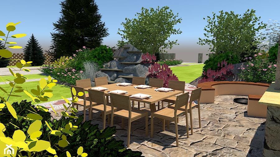Ogrody przydomowe - Ogród, styl tradycyjny - zdjęcie od Zielony Tlen - pracownia architektury krajobrazu