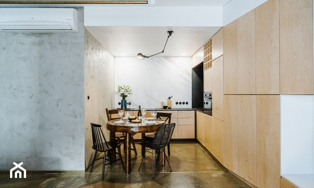 panele na podłoge w kuchni