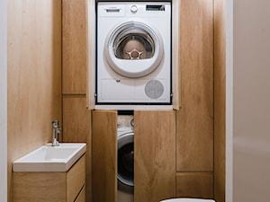 Mieszkanie na Sielcach - Średnia beżowa łazienka - zdjęcie od Mili Młodzi Ludzie