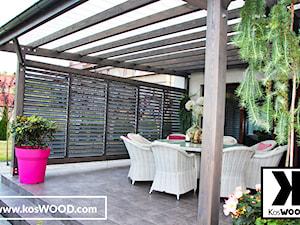 Zadaszenie tarasu zdjęcie - zdjęcie od koswood