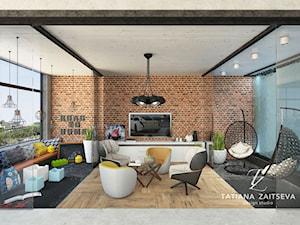 Something from our projects - Średni szary beżowy salon - zdjęcie od tz_interior