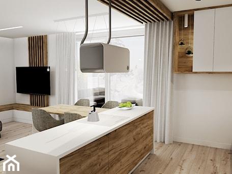 Aranżacje wnętrz - Kuchnia: otwarta kuchnia - ARTE.NIEMCZEWSKA. Przeglądaj, dodawaj i zapisuj najlepsze zdjęcia, pomysły i inspiracje designerskie. W bazie mamy już prawie milion fotografii!