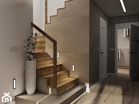 Dom jednorodzinny Stalowa Wola - Schody, styl nowoczesny - zdjęcie od ARTE.NIEMCZEWSKA
