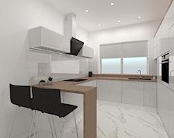 Kuchnia otwarta na salon - zdjęcie od SYME Pracownia Wnętrz