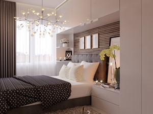 Sypialnia w bloku - zdjęcie od perfect-design
