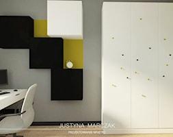 Pokój nastolatka - zdjęcie od Justyna Marczak Projektowanie Wnętrz
