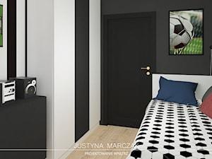 Pokój małego fana piłki nożnej - zdjęcie od Justyna Marczak Projektowanie Wnętrz