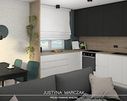 Strefa dzienna - zdjęcie od Justyna Marczak Projektowanie Wnętrz