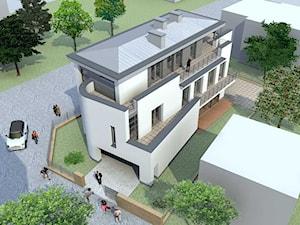 Dom Mieszkalny Dwurodzinny Koncepcja