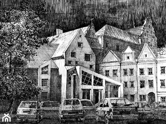 Budynek mieszkalny wielorodzinny - koncepcja architektoniczna