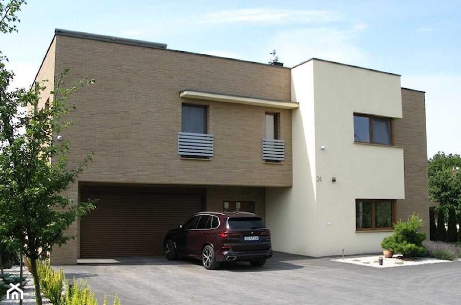 Dom Mieszkalny Jednorodzinny NAW - Domy, styl nowoczesny - zdjęcie od Piotr Nasiadek