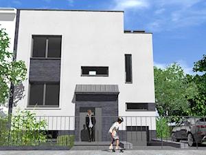 Dom w zabudowie blizniaczej_przebudowa, rozbudowa, nadbudowa