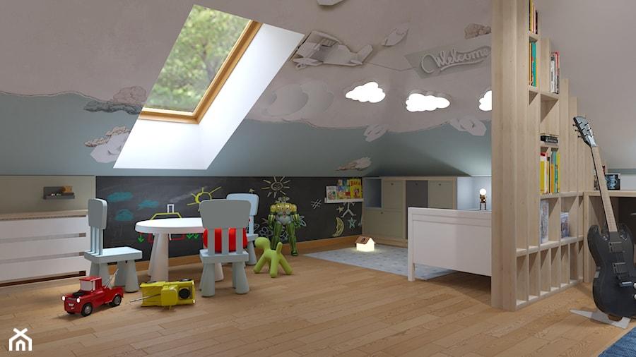 pokoj dla braci - Pokój dziecka, styl nowoczesny - zdjęcie od Rene Design
