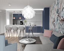 Salon z kuchnią - zdjęcie od M2 Architektura Marta Szolczewska - Homebook