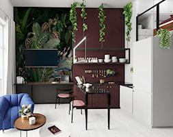 Apartament eklektyczny MINIMAXY - Jadalnia, styl eklektyczny - zdjęcie od M2 Architektura Marta Szolczewska - Homebook