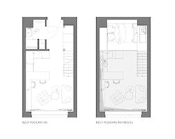 Apartament eklektyczny MINIMAXY - Salon, styl nowoczesny - zdjęcie od M2 Architektura Marta Szolczewska - Homebook
