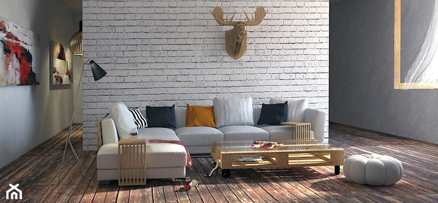 Salon industrialny - zdjęcie od M2 Architektura Marta Szolczewska