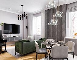 Salon+z+kuchni%C4%85+-+zdj%C4%99cie+od+Elegance+of+Tailors