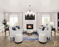 Jasny przestronny salon - zdjęcie od Elegance of Tailors