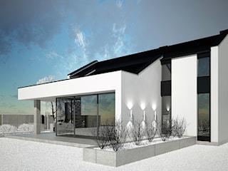projekt domu jednorodzinnego BE