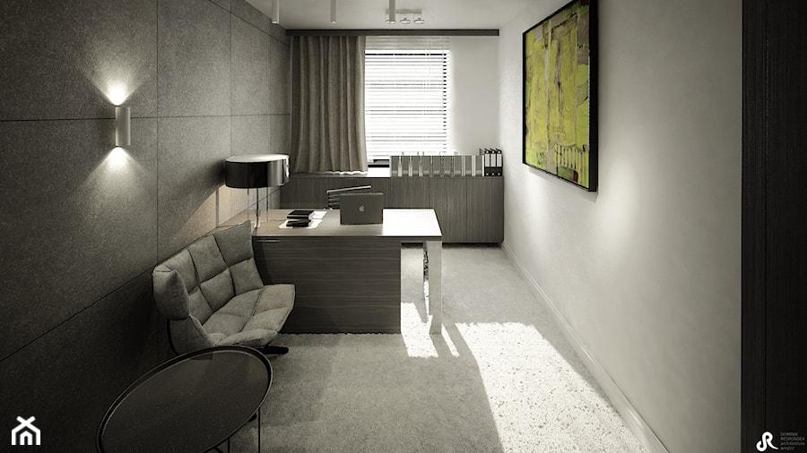 projekt wnetrza kancelarii - Wnętrza publiczne, styl nowoczesny - zdjęcie od Otwarte Studio Sztuka