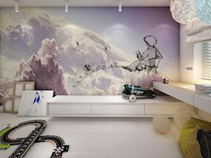 jazz house - Średni biały pokój dziecka dla chłopca dla dziewczynki dla malucha, styl minimalistyczny - zdjęcie od Otwarte Studio Sztuka