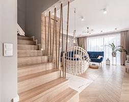 Dom w stylu nowoczesnym - Schody, styl nowoczesny - zdjęcie od Maciej Nowakowski Fotografia Wnętrz - Homebook