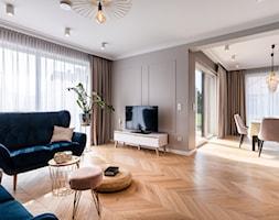 Dom w stylu nowoczesnym - Salon, styl nowoczesny - zdjęcie od Maciej Nowakowski Fotografia Wnętrz - Homebook