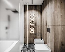 apartament we Wrocławiu° - Łazienka, styl minimalistyczny - zdjęcie od nahajowski.studio° - Homebook