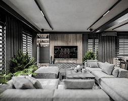 apartament we Wrocławiu° - Salon, styl minimalistyczny - zdjęcie od nahajowski.studio° - Homebook
