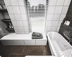 łazienka w stylu vintage - zdjęcie od nahajowski.studio