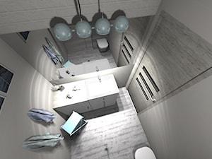 BATHROOM DESIGN 3D, PROJEKTY ŁAZIENKEK, PROJEKTOWANIE WNĘTRZ - Architekt / projektant wnętrz