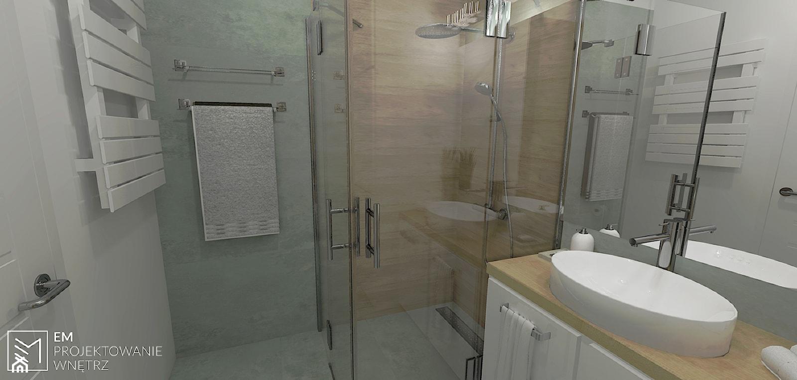 Mała łazienka - zdjęcie od EM Projektowanie Wnętrz - Homebook