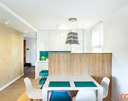 Lazurowe mieszkanie - zdjęcie od COCO Pracownia projektowania wnętrz