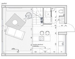Mieszkanie surowe w Poznaniu - Hol / przedpokój, styl eklektyczny - zdjęcie od zonaarchitekci - Homebook