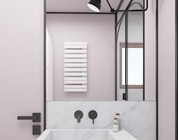 Mieszkanie surowe w Poznaniu - Łazienka, styl nowoczesny - zdjęcie od zonaarchitekci - Homebook