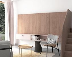 Mieszkanie lastryko Poznań - Salon, styl minimalistyczny - zdjęcie od zonaarchitekci - Homebook