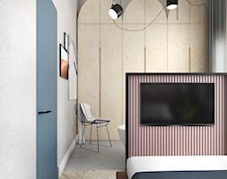 Mieszkanie surowe w Poznaniu - Sypialnia, styl eklektyczny - zdjęcie od zonaarchitekci - Homebook