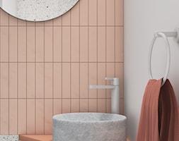 Mieszkanie surowe w Poznaniu - Łazienka, styl minimalistyczny - zdjęcie od zonaarchitekci - Homebook