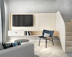Mieszkanie surowe w Poznaniu - Salon, styl eklektyczny - zdjęcie od zonaarchitekci - Homebook