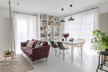 14 pomysłów na podłogę w salonie