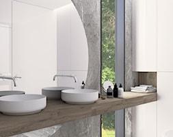 Łazienka w domu pod Jaworem - zdjęcie od Muun Studio