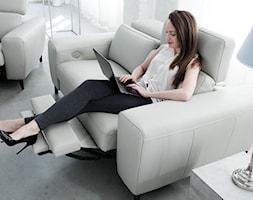 Hamilton - wygodna sofa modułowa - funkcja relaksu - zdjęcie od Bizzarto - Homebook