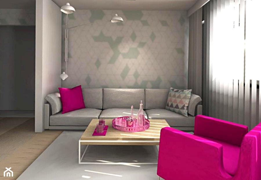 Salon Fuksja I Turkus Zdjęcie Od Awitku Studio Anita