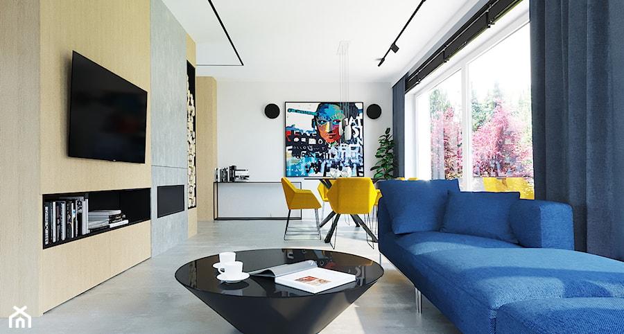 NOWOCZESNY DOM - Salon, styl nowoczesny - zdjęcie od DAinteriors