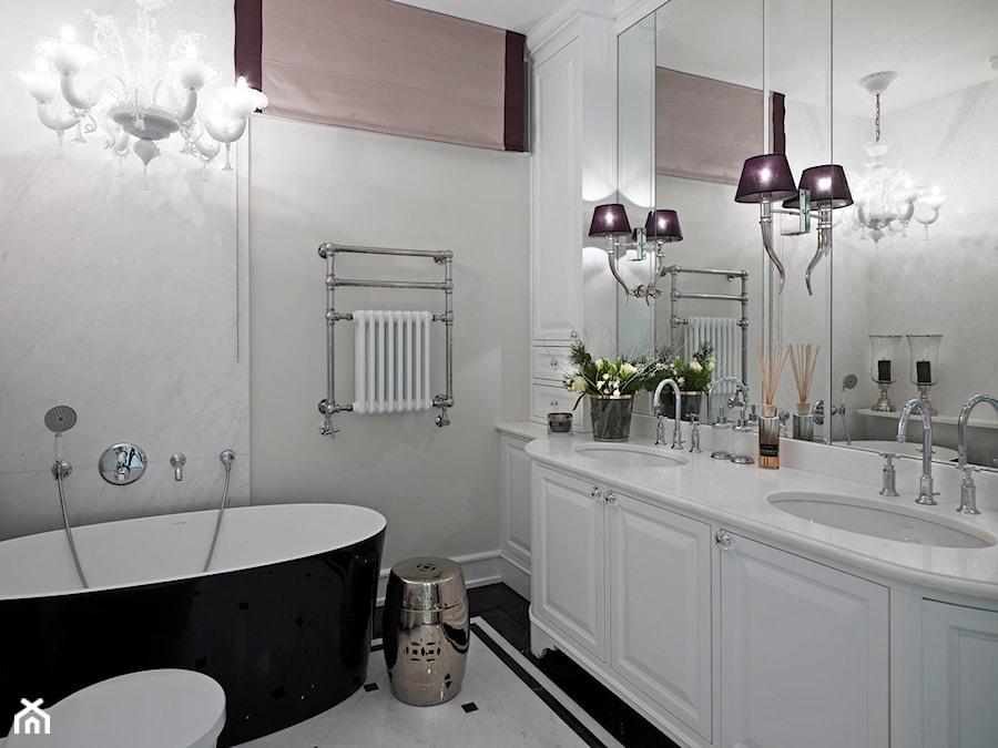 Apartament w Warszawie - Łazienka, styl nowojorski - zdjęcie od BBHome