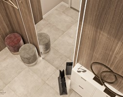 Mieszkanie w Mińsku - Hol / przedpokój, styl nowoczesny - zdjęcie od LINEUP STUDIO - Homebook