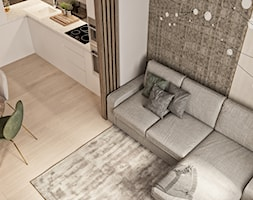 Mieszkanie w Mińsku - Salon, styl nowoczesny - zdjęcie od LINEUP STUDIO - Homebook